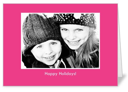 Classic Hot Pink Birthday Card