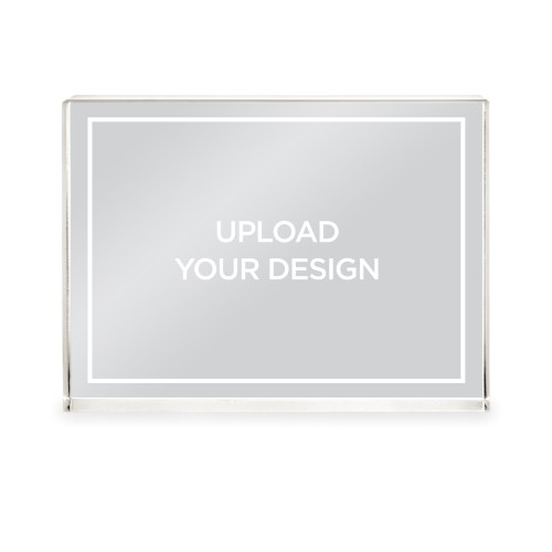 Upload Your Own Design Acrylic Block