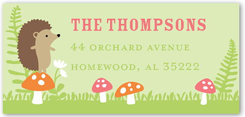 Gathering Forest Address Label