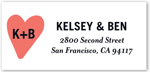 Simply Forever Address Label