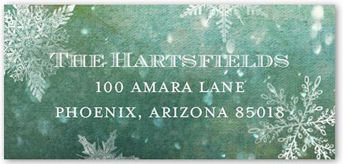 Divine Snowflakes Address Label