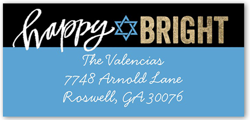 Bright Love Joy Address Label