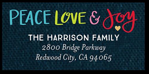 Whimsical Peace Address Label