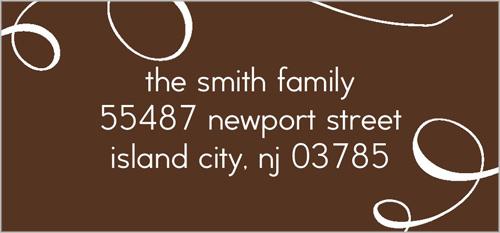 Blessed Family Address Label