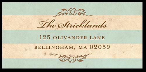 Antique Elegance Address Label