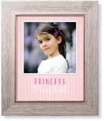 princess simple border art print
