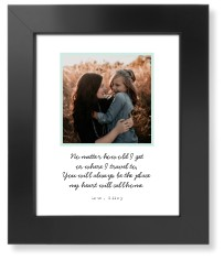 quote for mom art print