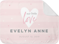 our little love baby blanket