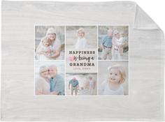 special happiness fleece photo blanket