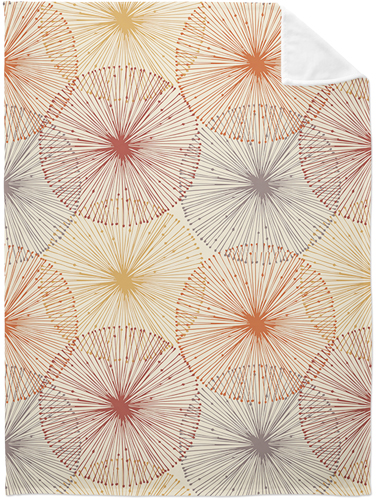 Dandelions Fleece Photo Blanket, Plush Fleece, 50 x 60, Multicolor