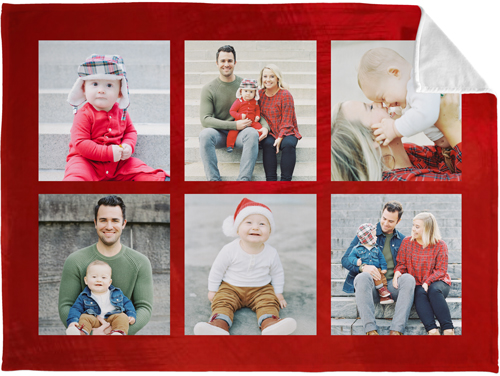 Gallery of Six Fleece Photo Blanket