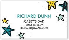 darling stars calling card