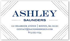 Modern contemporary business cards shutterfly can be customized reheart Choice Image
