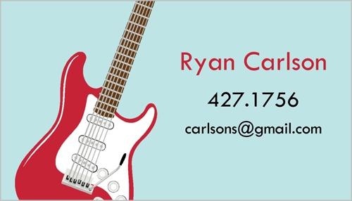 you rock custom business cards shutterfly