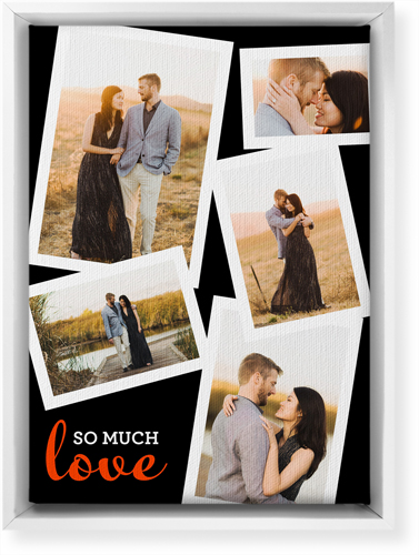 So Much Love Collage Canvas Prints