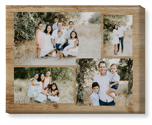 Rustic Collage Canvas Print