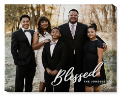 blessed letters wall art