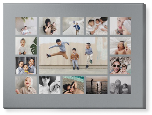 Gallery Collage Of Fif Canvas Print