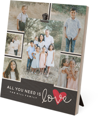 all you need is love clip photo frame
