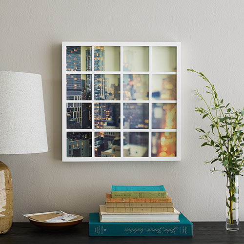 Photo Gallery Grid 16 Square Frame | Collage Picture Frames | Shutterfly