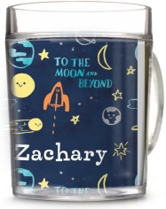 moon and stars blast off cup