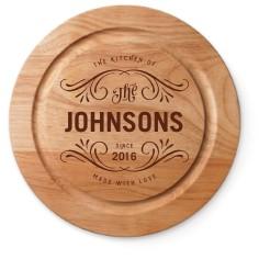 flourish kitchen cutting board