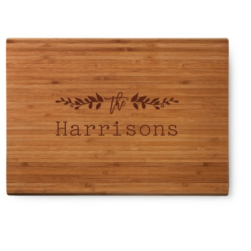 Floral Accent Cutting Board