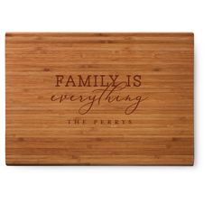 family is everything cutting board