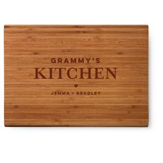 kitchen heart cutting board