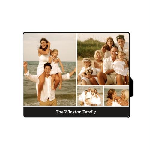 Simply Family Desktop Plaque, Rectangle, 8 x 10 inches, Black