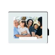 simple overlay desktop plaque