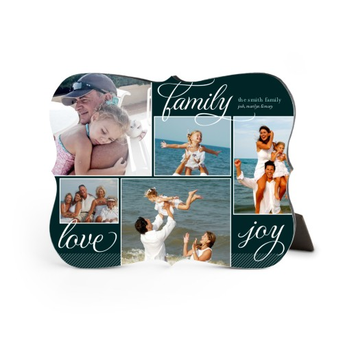 Family Sentiments Desktop Plaque, Bracket, 8 x 10 inches, Black