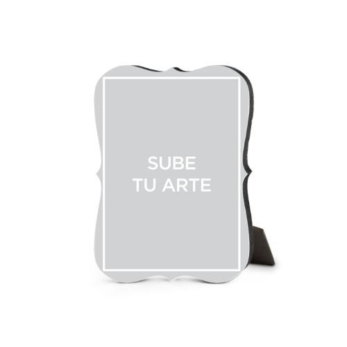 Sube Tu Arte Desktop Plaque, Bracket, 5 x 7 inches, Multicolor