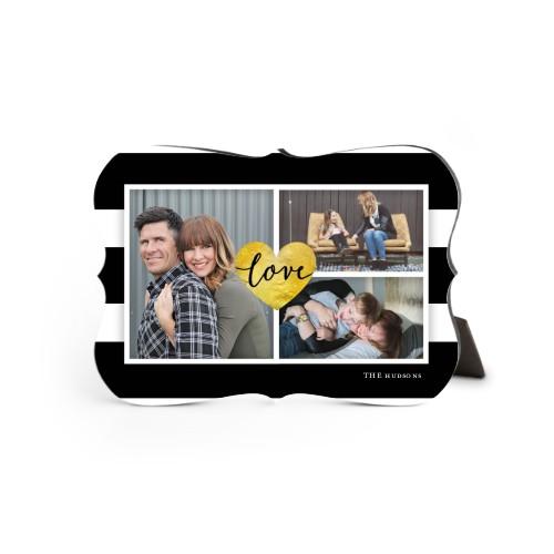 Love Stripes Desktop Plaque, Bracket, 5 x 7 inches, DynamicColor