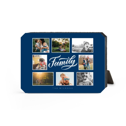 Family All Around Collage Desktop Plaque
