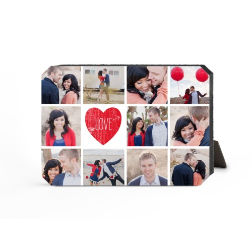 Love Moments Desktop Plaque, Ticket, 5 x 7 inches, Red
