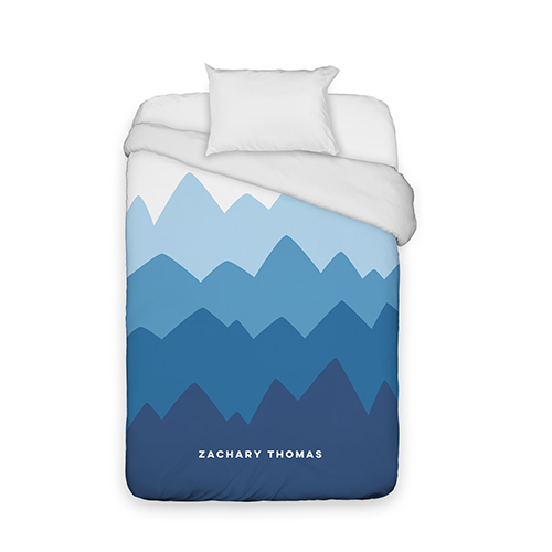 Adventure Mountain Range Duvet Cover Bedding Home Decor