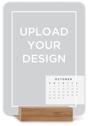 Upload Your Own Design Easel Calendar