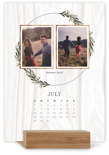 Love Grows Easel Calendar