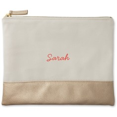 make it yours canvas pouch