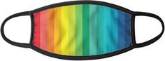 rainbow pride adult cloth face mask