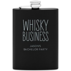 whisky business flask