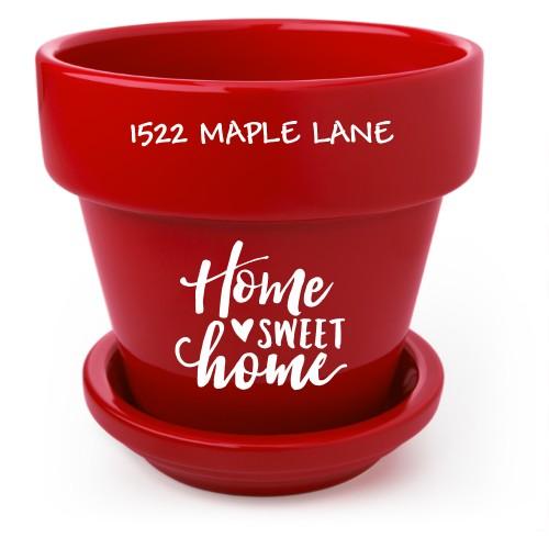 Home Sweet Home Flower Pot