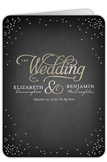 splendid statement wedding program