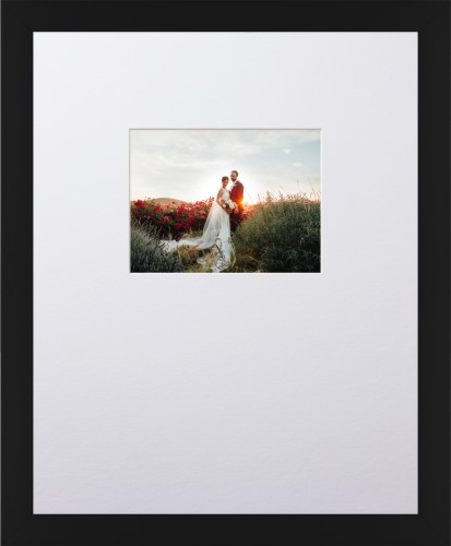 Prints By Deluxe: Offset Rectangle Landscape Deluxe Mat Framed Print