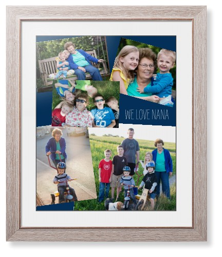Gallery Collage of Five Framed Print