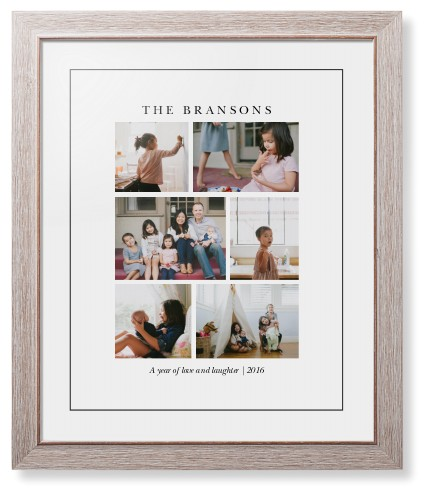 Gallery Montage of Memories Framed Print