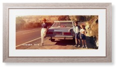 gallery panoramic framed print