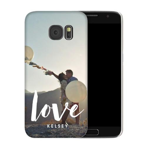 Love Script Samsung Galaxy Case