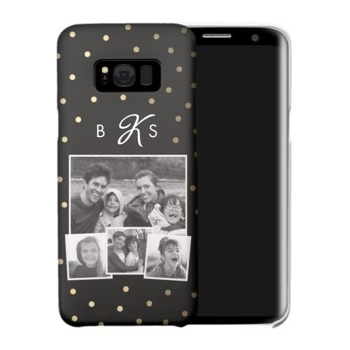 Polka Dot Monogram Samsung Galaxy Case